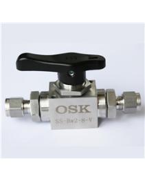 OSK球阀/316不锈钢/高温/高压/BW对夹式球阀